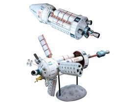 MPC Pilgrim Observer Space Station