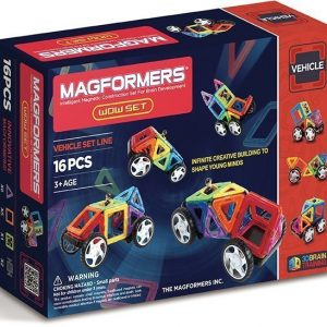 Magformers Ajoneuvot 16 osaa