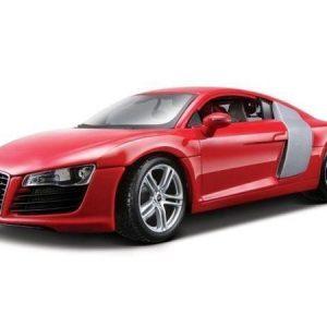 Maisto Audi R8 pienoismalli jalustalla