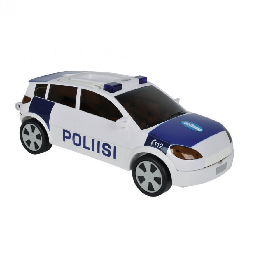 Majorette Säilytysauto Poliisi