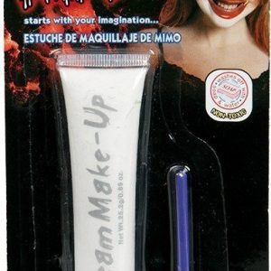 Make Up Cream White