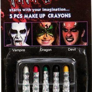 Make up Crayons 5 pcs