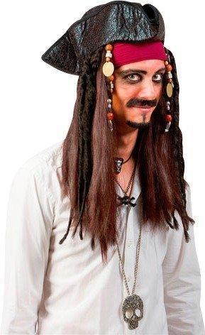 Maskerad Pirathatt med Dreads