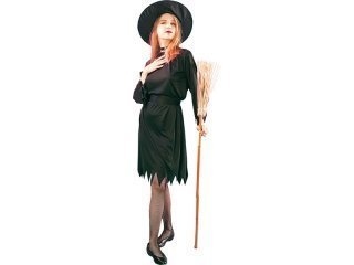 Maskeraddräkt black witch adult