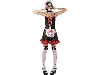 Maskeraddräkt bloody french maid