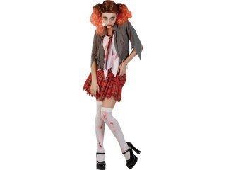 Maskeraddräkt bloody high school girl