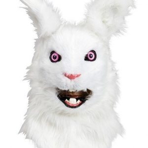 Maskeradmask Delux White Rabbit
