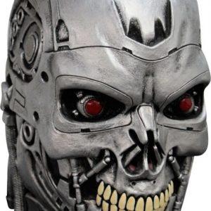 Maskeradmask Terminator Endoskull Deluxe