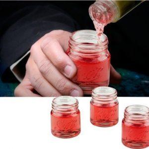 Mason Jar Shotglas 4-pack