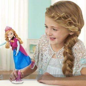 Mattel Nukke Frozen Anna Luistimilla