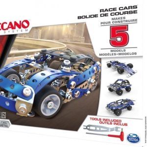Meccano 5 Models Set Race Cars
