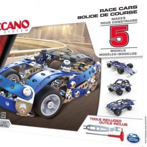 Meccano 5 Models Set Race Cars