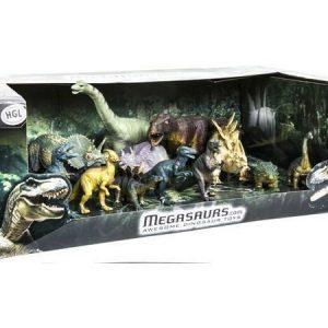 Megasaurs Dinopakkaus 12 dinoa