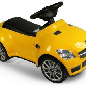 Mercedes Benz SLK 55 AMG Potkutteluauto Keltainen