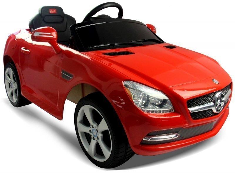 Mercedes Benz SLK Sähköauto Punainen