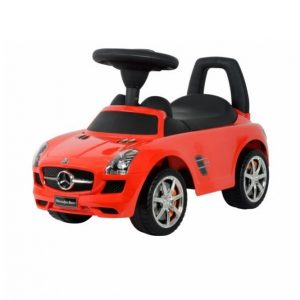 Mercedes Sls Kävelyauto Punainen