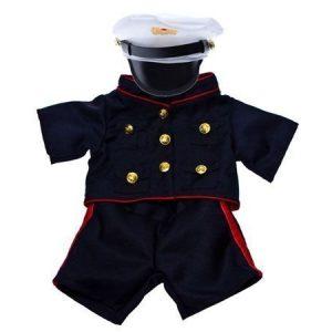 Merimiehen puku 40 cm