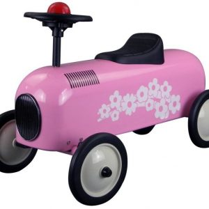 Metal Racer Little Pink Car