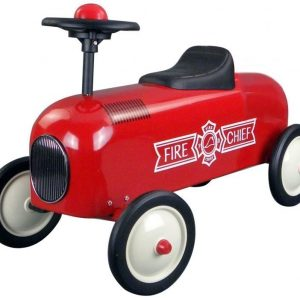 Metal Racer Little Red Fire Truck
