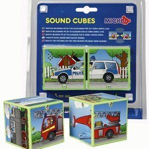 Micki Sound Cubes Ajoneuvot