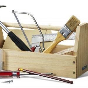 Micki Työkalupakki sekä työkalut Puuta