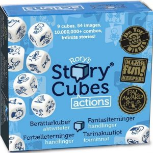 Mindtwister Lastenpeli Rory's Story Cubes Actions