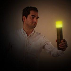 Minecraft Light-up Wall Torch