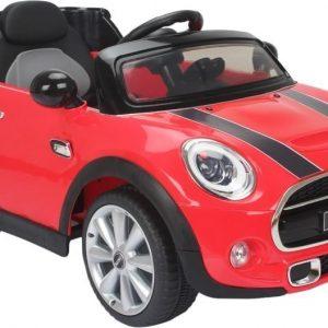 Mini Sähköauto Punainen kauko-ohjaimella