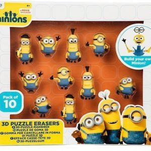Minions 3D Pussel 10-pack