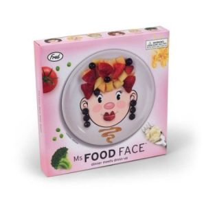 Miss Food Face -lautanen