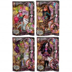 Monster High Freaky Fusion Fuusiohahmo