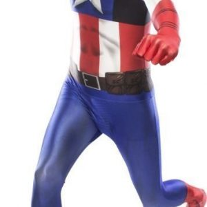 Morphsuit Captain America Large