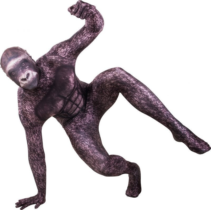 Morphsuit Gorilla Large