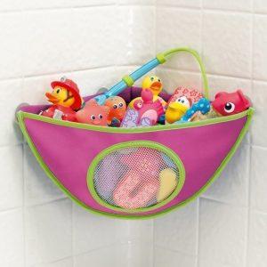 Munchkin Corner Bath Organiser Pinkki