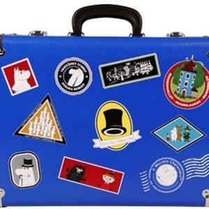 Muumi matkalaukku sininen