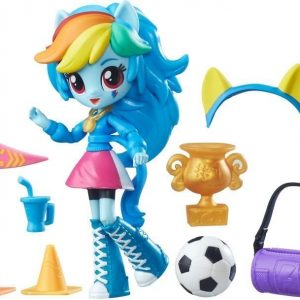 My Little Pony Equestria Girls Minis Character Accessory Rainbow Dash School Pep Rally