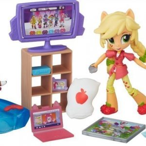 My Little Pony Equestria Girls Minis Story Pack Applejack Slumber Party Games