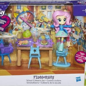 My Little Pony Equestria Girls Minis Story Pack Fluttershy School Cafeteria