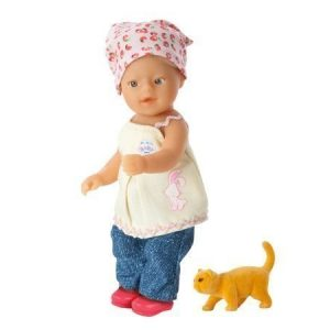My mini Baby Born Lovely Farm nukke ja eläinvauva