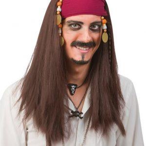 Naamiaiset Peruukki piraatti
