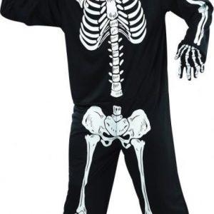 Naamiaispuku aikuisille Skeleton