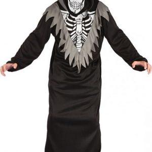 Naamiaispuku lapsille Skeleton Robe 134-140