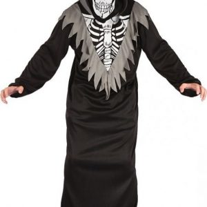 Naamiaispuku lapsille Skeleton robe 146-152