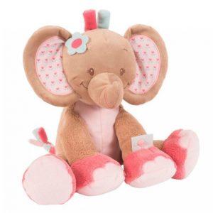 Nattou Rose Elefanttipehmolelu 33 Cm