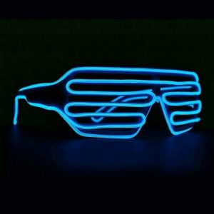 Neon Light Up Party Glasses