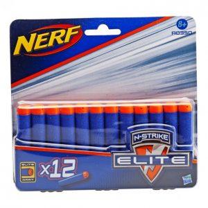 Nerf N-Strike Elite Pehmonuoliammus 12 Kpl