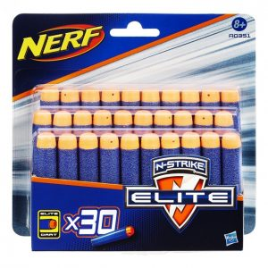 Nerf N-Strike Elite Pehmonuoliammus 30 Kpl