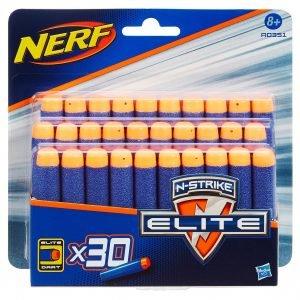 Nerf 'n Strike Nuoliaseen Täyttö 30 Kpl