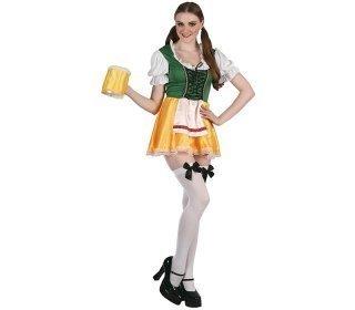 Oktoberfest nainen naamiaisasu