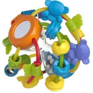 PLAYGRO Leiki ja opi -pallo Lelu jossa peili ja apinoita